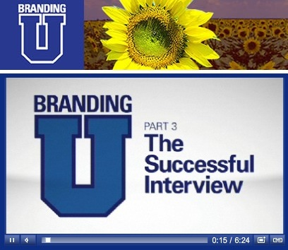 Branding U Pt3 – The Successful Interview