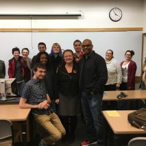 Talking Music Business at Bridgewater State University, with Dr. Joyce Rain Anderson!