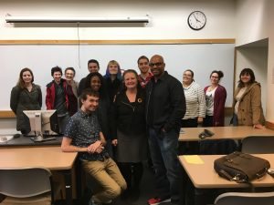 Always fun talking Music Business at Bridgewater State University, with Dr. Joyce Rain Anderson! #Publishing #CopyrightLaw #IntellectuaProperty #MusicLicensing #Songwriting #Composing #MusicProduction #Film #TV Malik Williams, Liptunes Music, @ReelSyncMusic